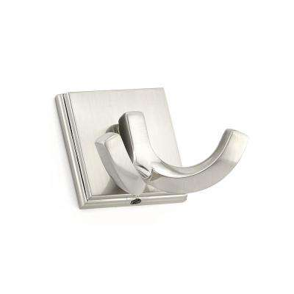 2-1/8 in. (53.6 mm) Brushed Nickel Decorative Hook