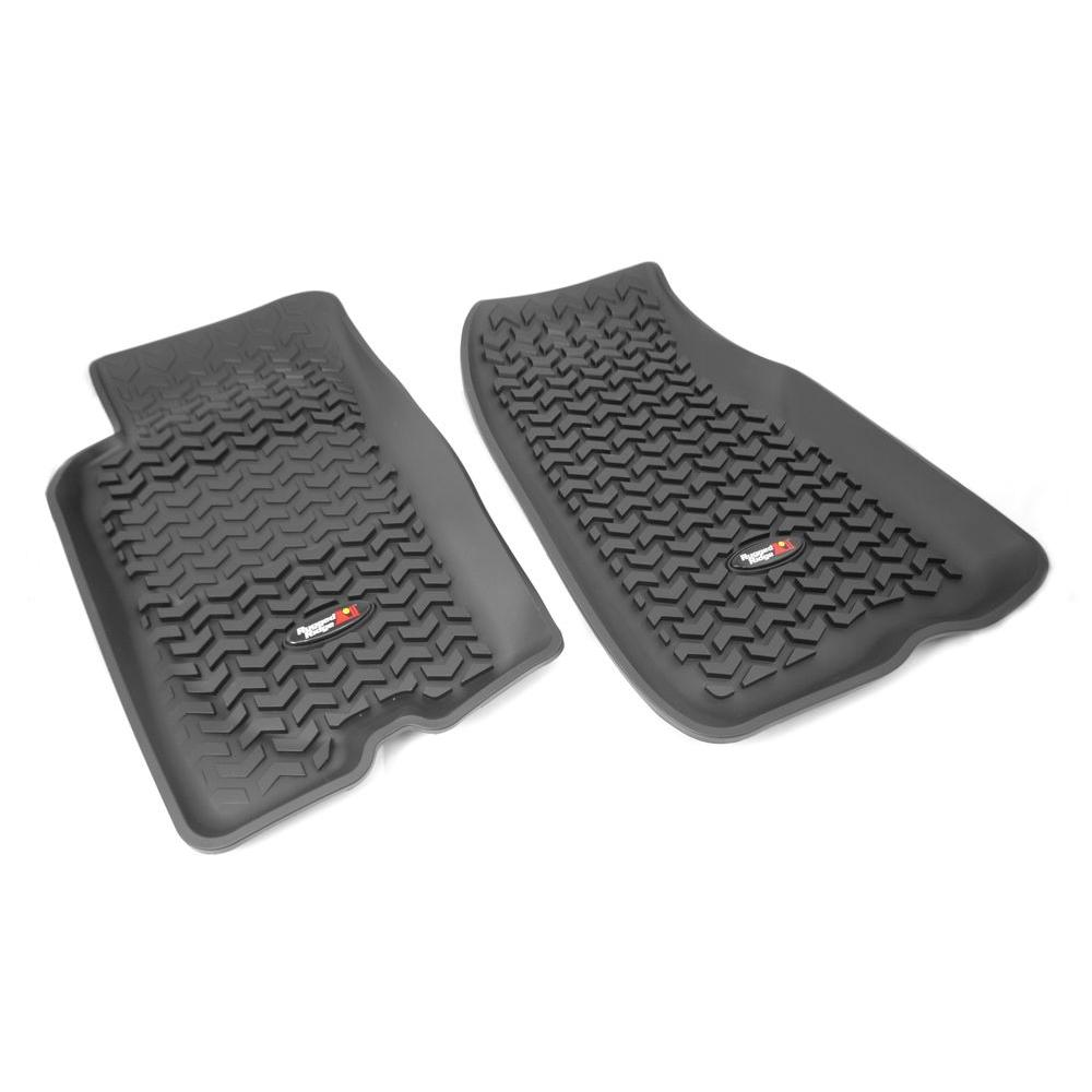 Floor Liner Front Pair Black 1993-1998 Jeep Gr and Cherokee ZJ