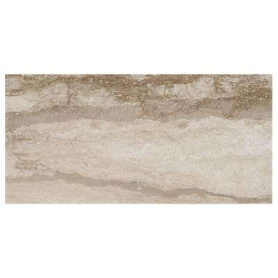 Vettuno Bisque 12 in. x 24 in. Glazed Porcelain Floor and Wall Tile (15.6 sq. ft. / case)