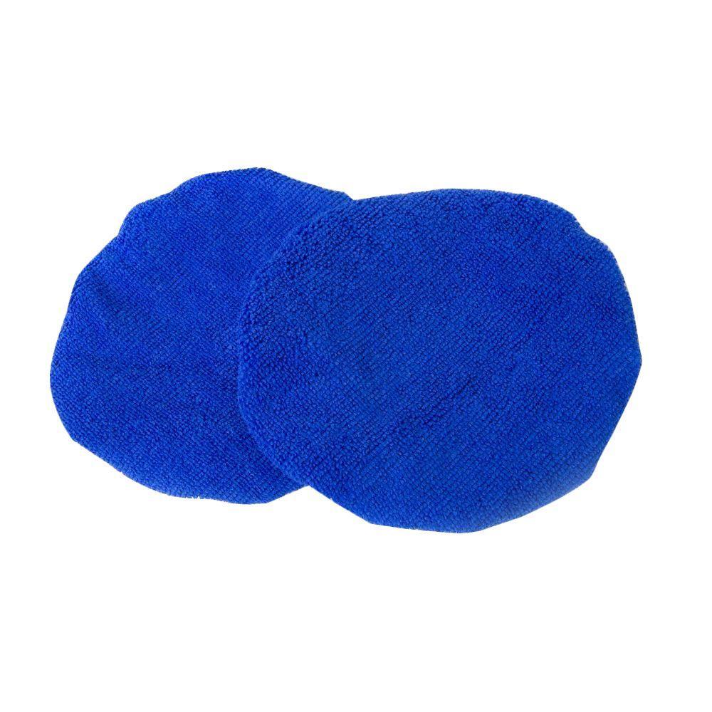 10 in. Microfiber Polishing Bonnets (2-Pack)