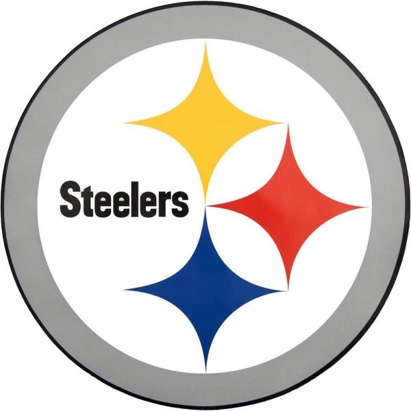 Applied Icon Nfl Pittsburgh Steelers Outdoor Logo Graphic