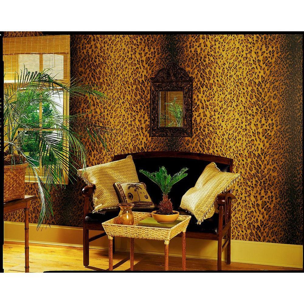 Leopard Skin Wallpaper