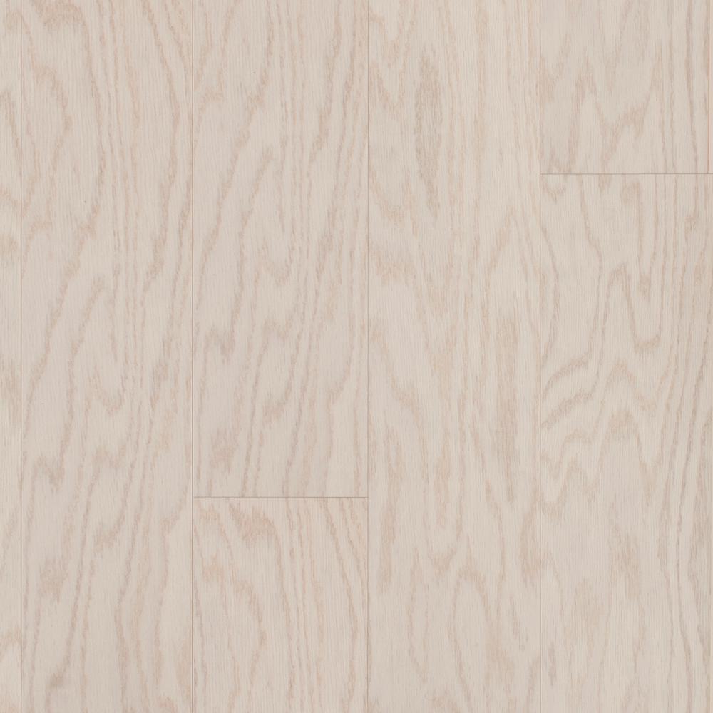 Take Home Sample - Oak Ivory Engineered Click Hardwood Flooring - 5 in. x 7 in.