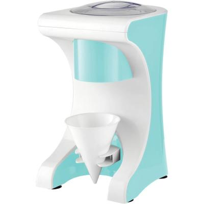 5.6 fl. oz. Blue Snow Cone Maker with Shaved Ice Machine