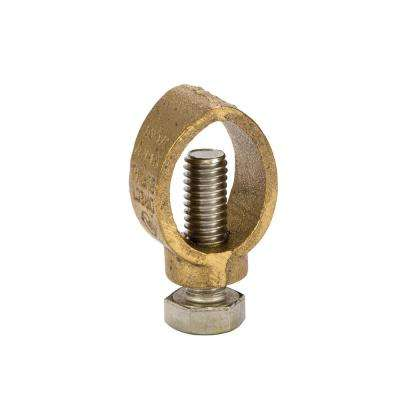 3/8 in. - 3/4 in. Ground Rod Multi-Size Ground Rod Clamp with 3/8 in. - 5/8 in. Rebar