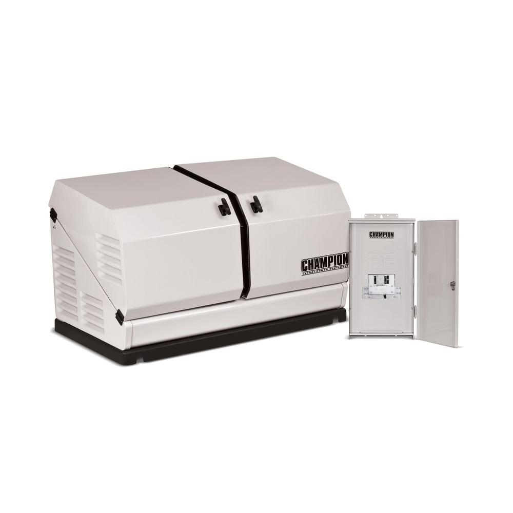 8,500-Watt Air Cooled Standby Generator with 50 Amp NEMA 3 and
