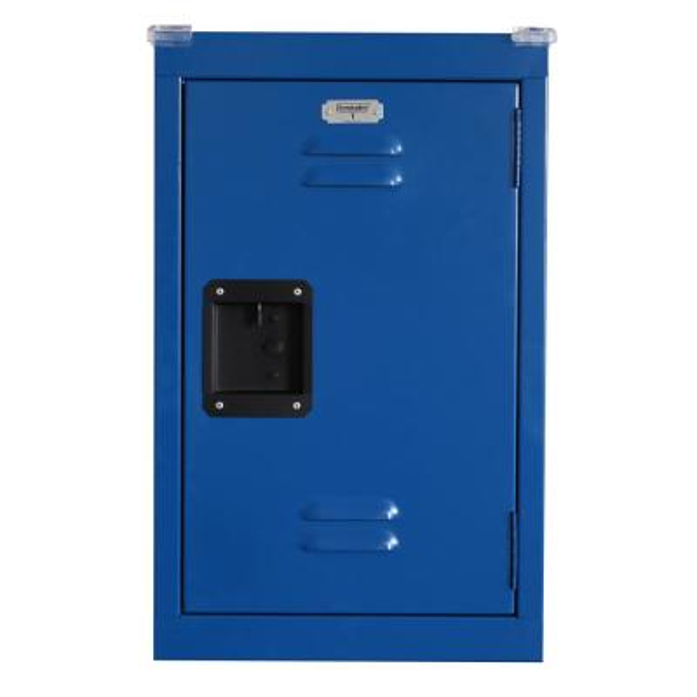 24 in. H x 15 in. W x 15 in. D 1-Tier Steel Locker in Ocean