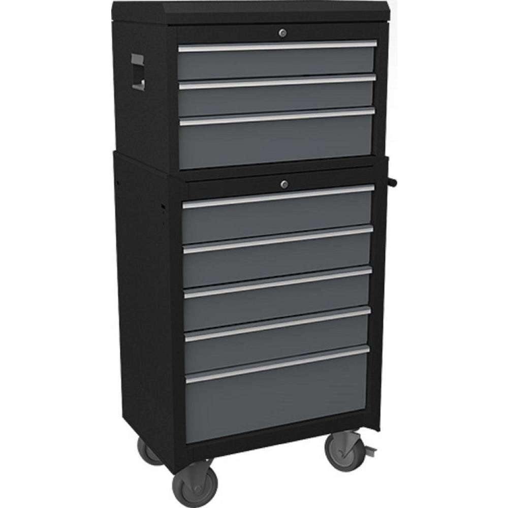 NewAge Products Bold Series 27 in. 8-Drawer Tool Chest, Gray