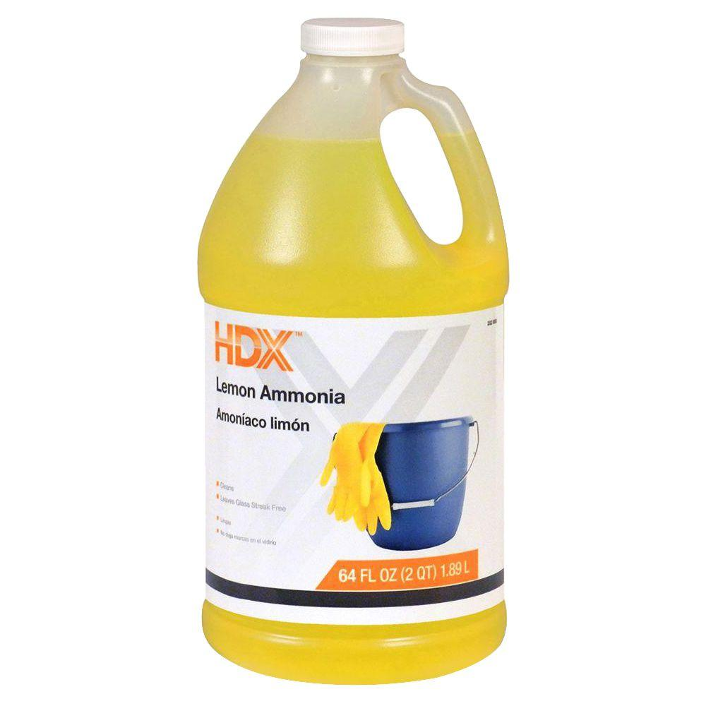 HDX 64 oz. Lemon Ammonia