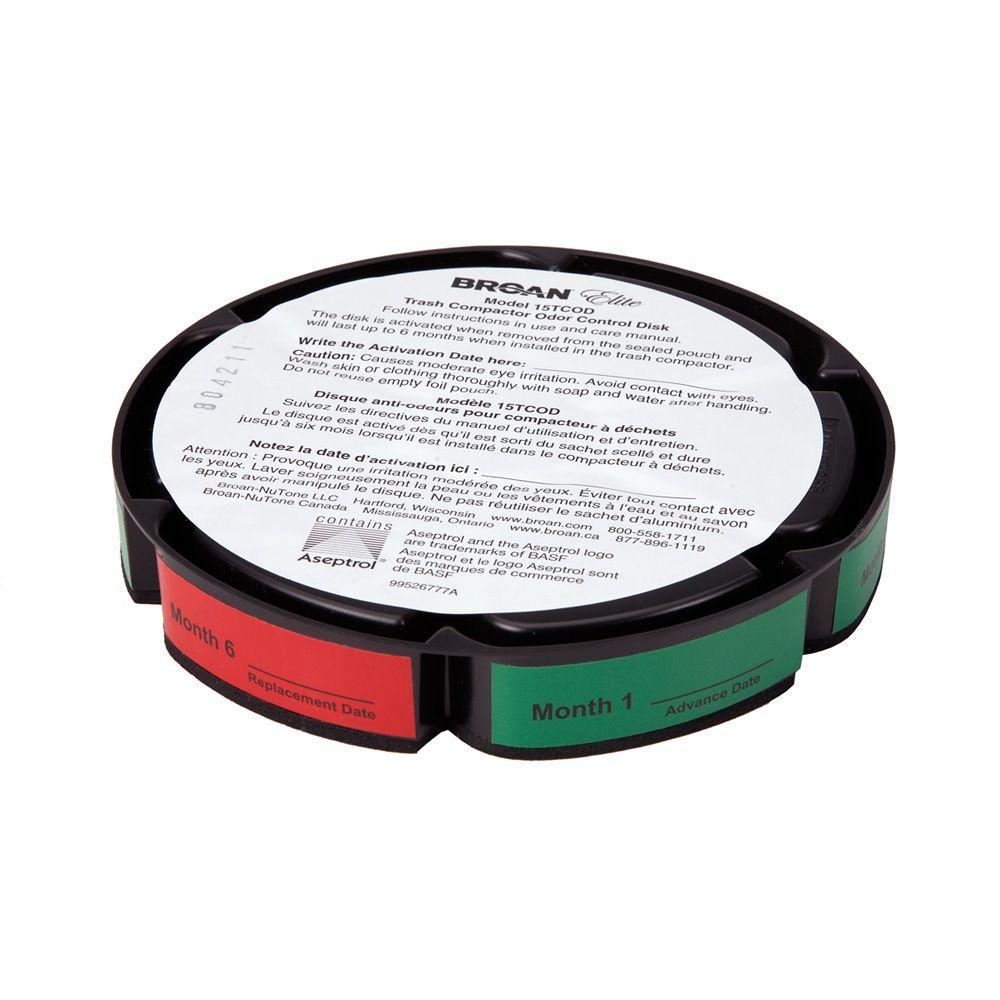 15 in. Odor Control Disc for Elite Trash Compactor