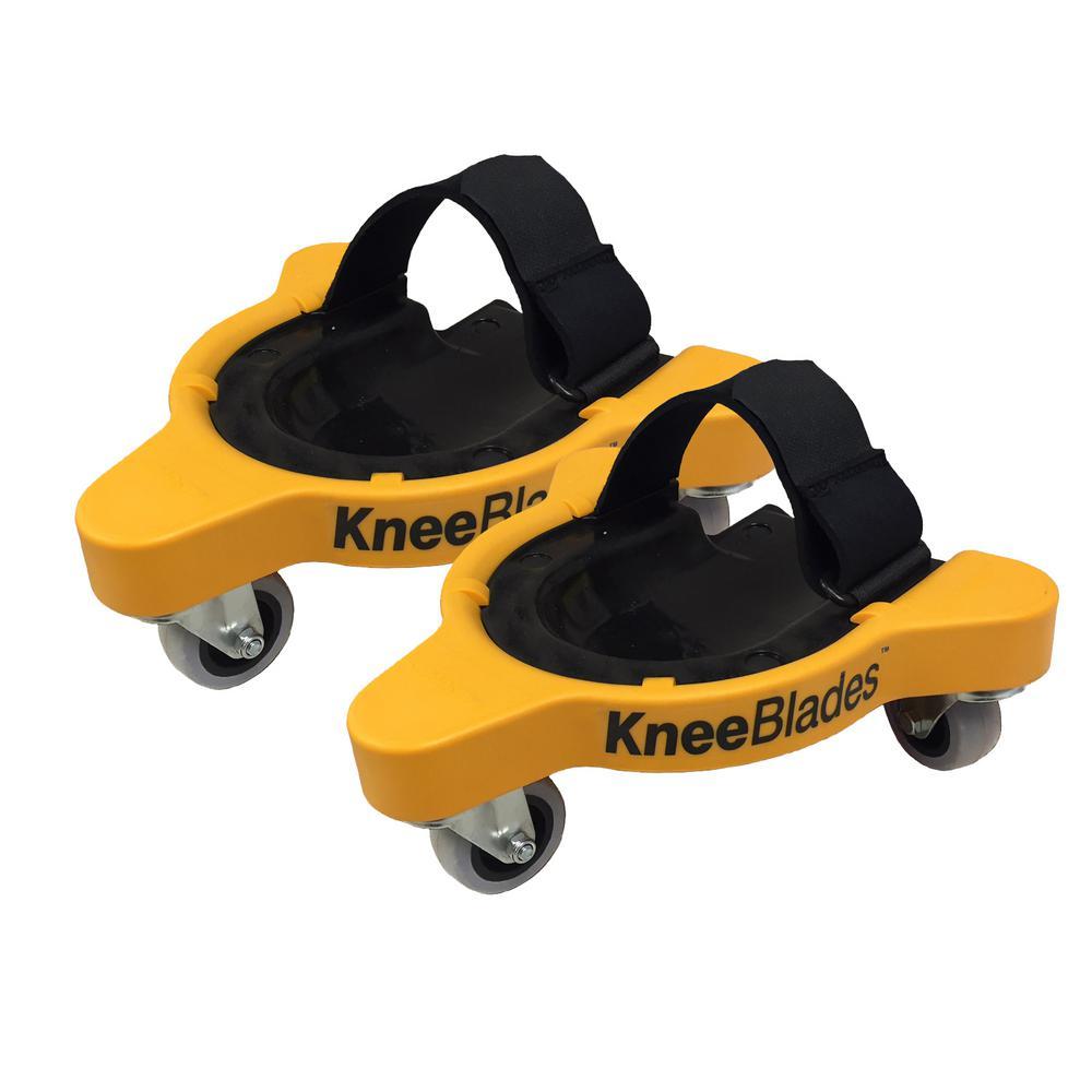 KneeBlades Durable Rolling Knee Pads