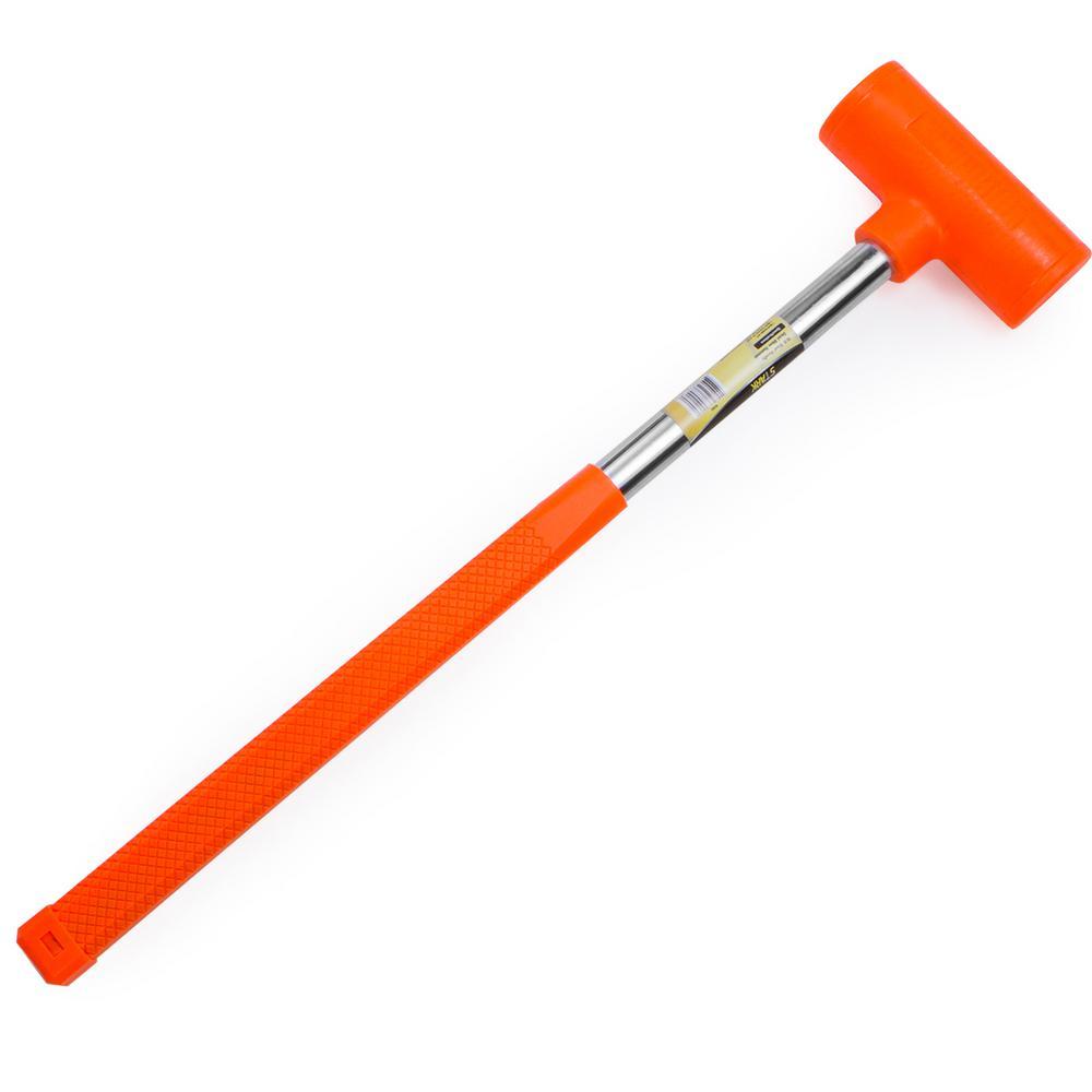 Stark 144 Oz Dead Blow Hammer With Steel Handle 15155 The Home Depot Insert spacer blocks between the flooring and wall or. stark 144 oz dead blow hammer with steel handle 15155 the home depot