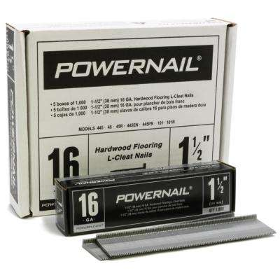 1-1/2 in. 16-Gauge Powercleats Hardwood Flooring Nails 5 (1000-Box)