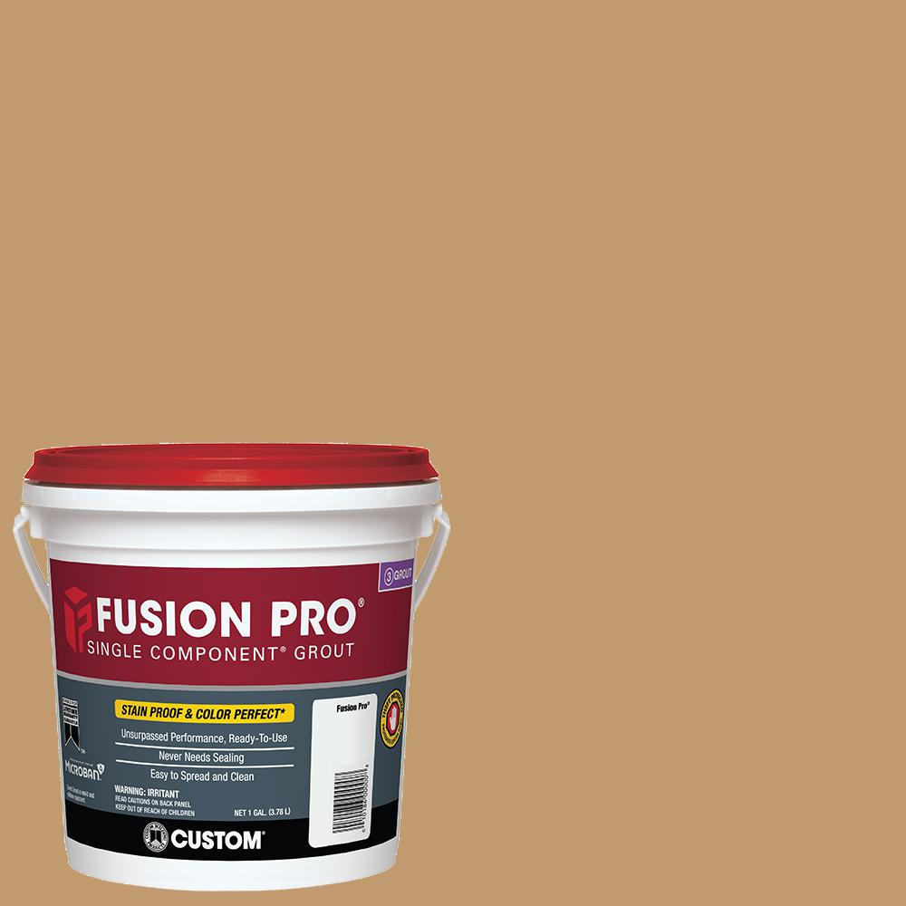 Fusion Pro #22 Sahara Tan 1 Gal. Single Component Grout