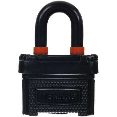 1-9/16 in. (40 mm) Weather Resistant Laminated Steel Padlock