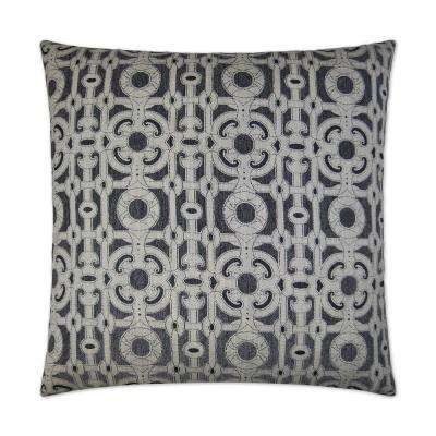 Locket Feather Down 24 in. x 24 in. Standard Decorative Throw Pillow