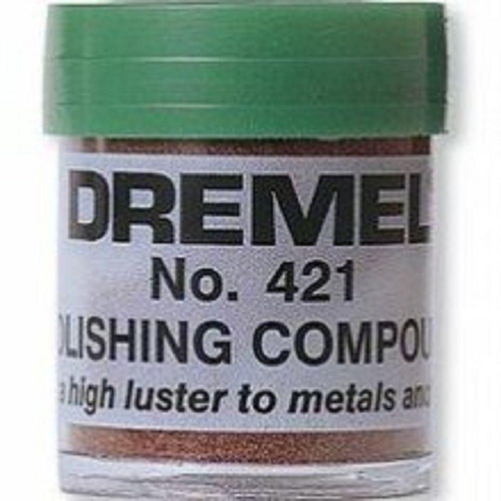 Dremel Silver Metallic Polishing Compound for Polishing Metal and Plastic