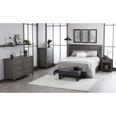 Quinn Dark Gray Full/Queen Size Headboard