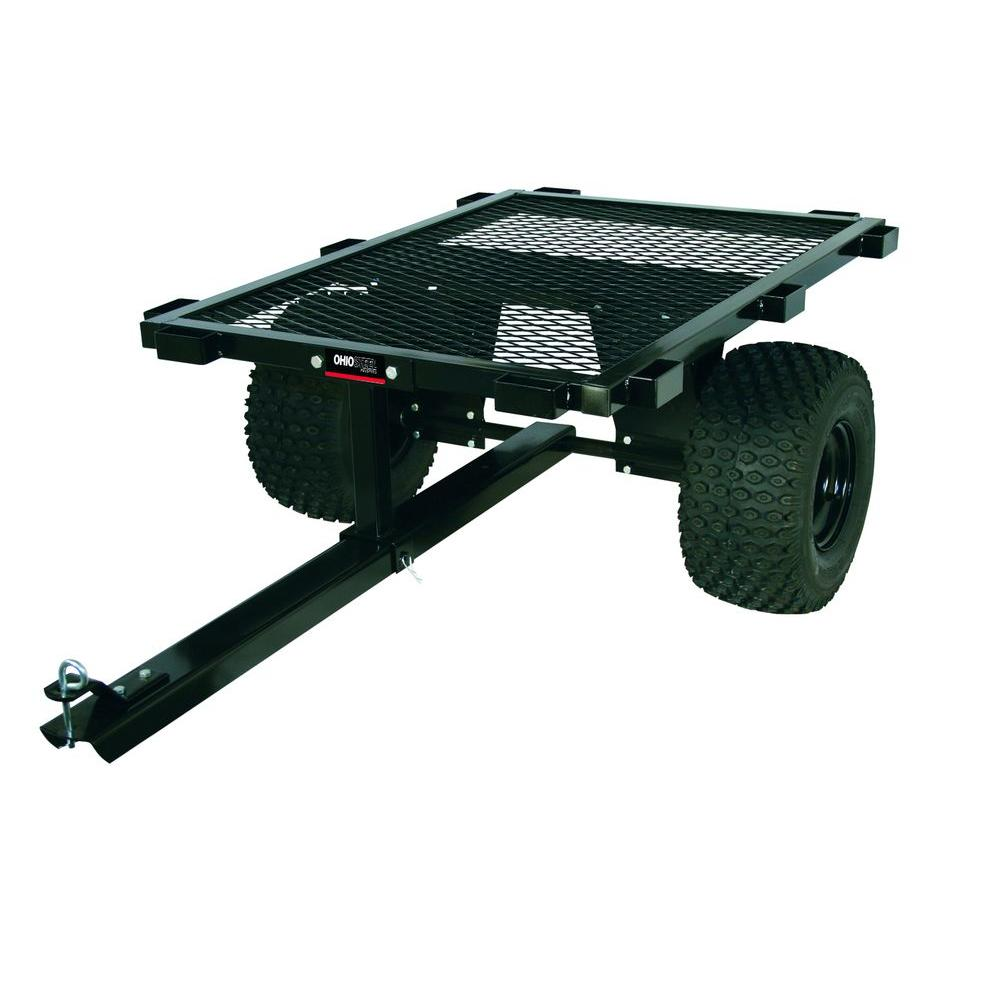 1000 lb. Capacity Steel Flatbed ATV Cart