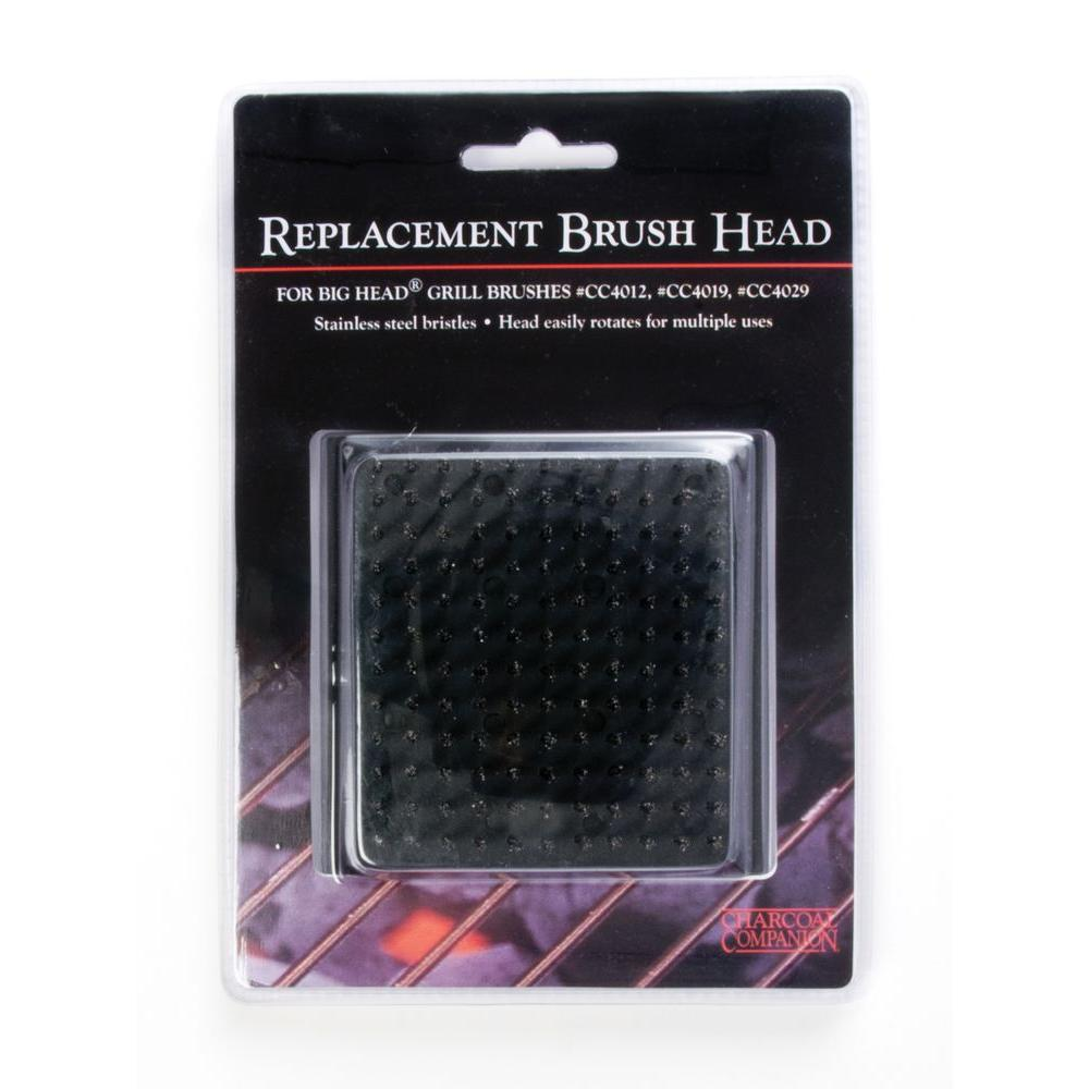 Charcoal Companion Big Head Grill Brush Replacement Head