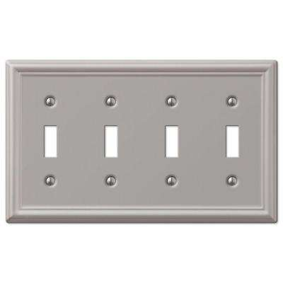 4 Switch Plate Fair 4  Toggle Switch Plates  Switch Plates  The Home Depot Inspiration Design