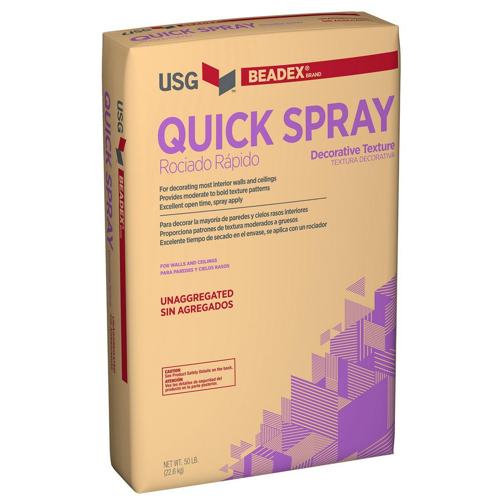 Quick Spray 50 lb. Decorative Texture
