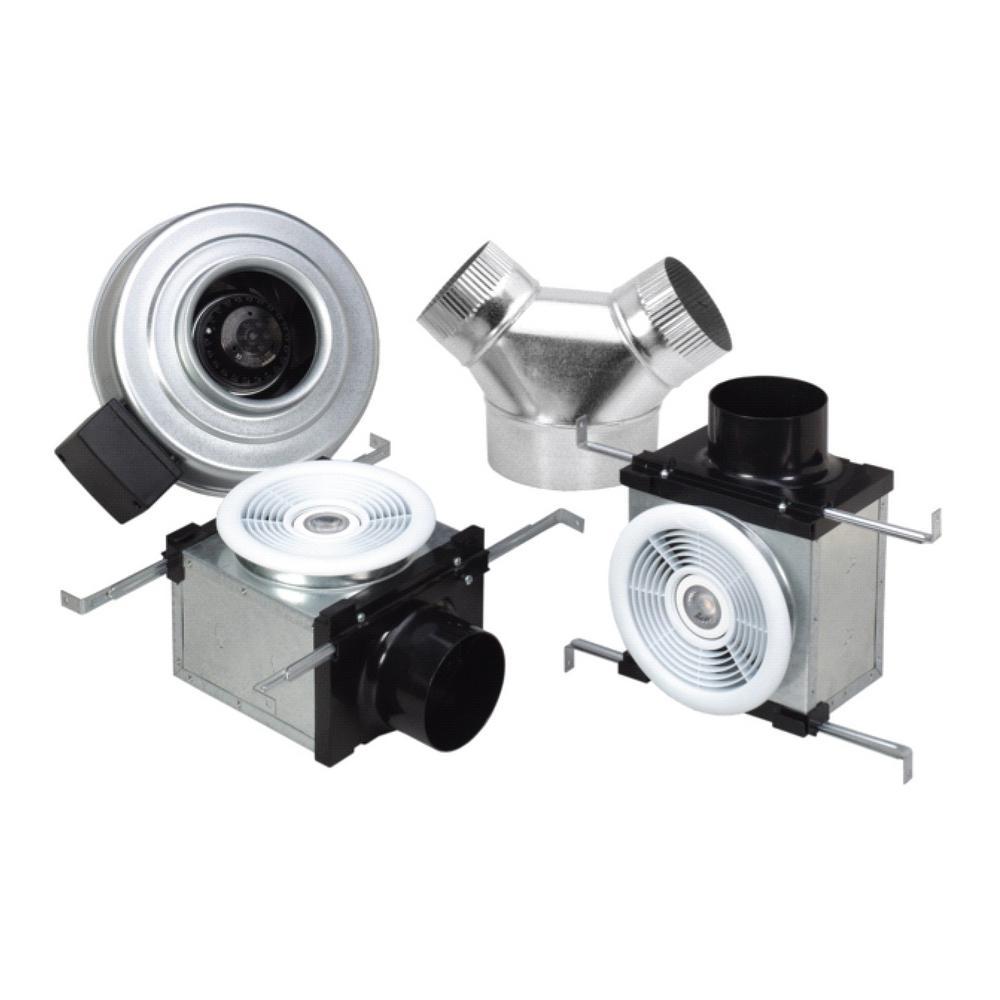 Bathroom Exhaust Fan Wattage: Fantech Premium Dual Grilles 270 CFM Ceiling Bathroom