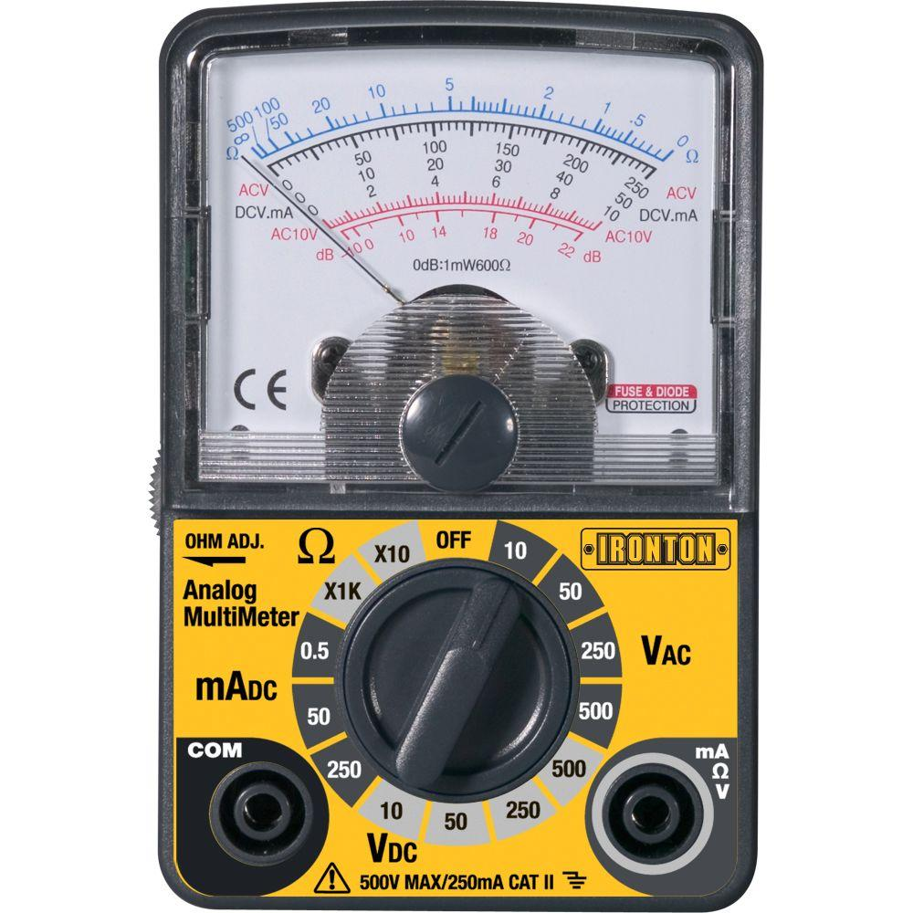 Extech Instruments Compact Analog Multimeter