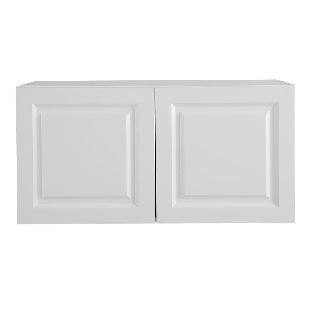 Refrigerator Wall Cabinet: Hampton Bay Benton Assembled 36x18x24.5 In. Refrigerator