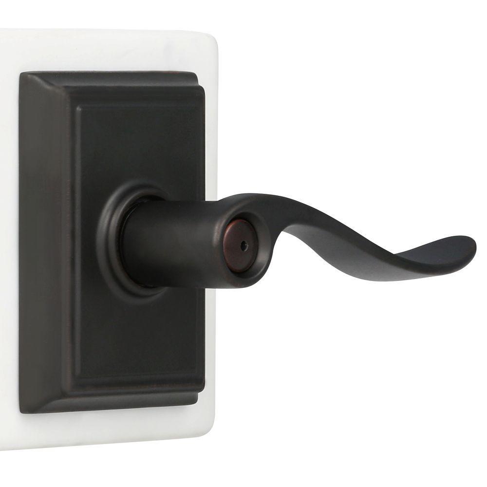 Schlage F40-ACC-BRK Accent Privacy Door Lever Set