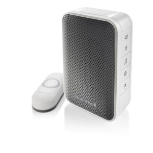 Honeywell Wireless Portable Door Bell with Strobe Light and Push Button by Honeywell