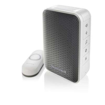 Wireless Portable Door Bell with Strobe Light and Push Button