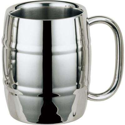 Volksfest 14 oz. Stainless Steel Double Walled Beer Mug