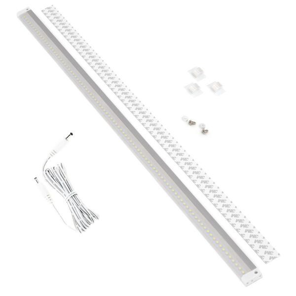 40 in. LED 6000K White Under Cabinet Light No Sensor (No Power Supply Included)