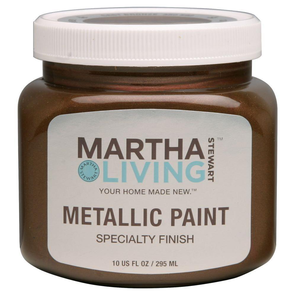 Captivating Martha Stewart Living 10 Oz. Cast Bronze Metallic Paint