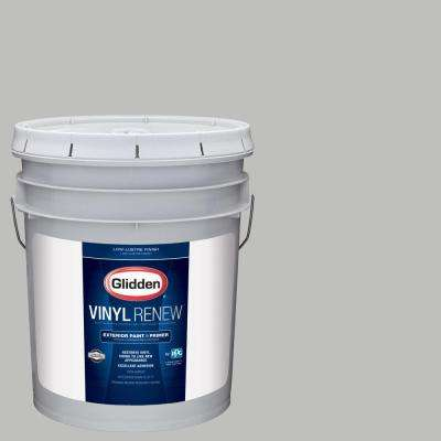 5 gal. #HDGCN62 Pebble Grey Low-Lustre Exterior Paint with Primer
