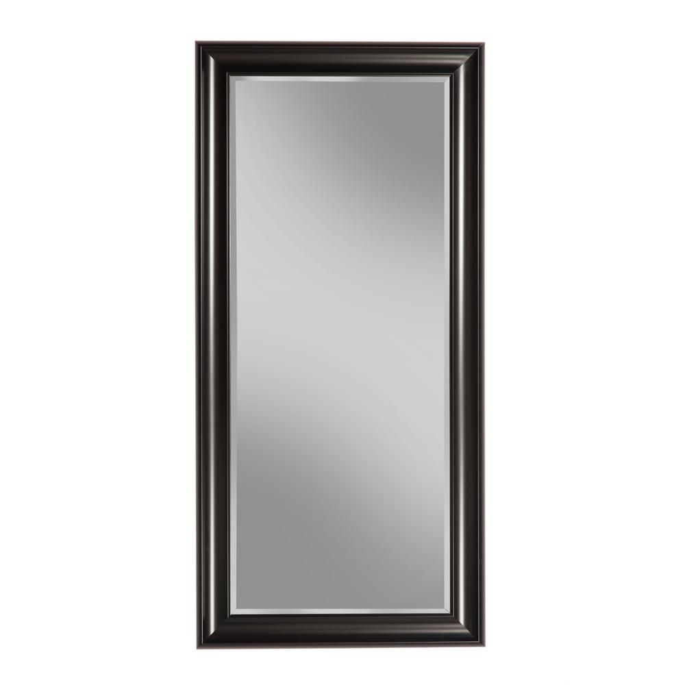 Sandberg Furniture Black Full Length Leaner Floor Mirror 12011 The