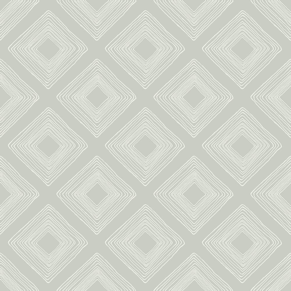 56 sq.ft. Diamond Sketch Wallpaper