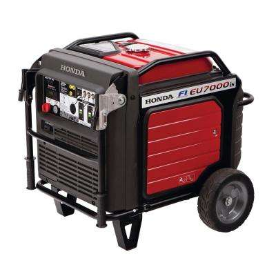 Ultra Quiet 7000-Watt Gasoline Powered Inverter Electric Start Generator