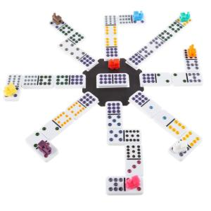 Classic Double douze Mexican Train dominos Board Game