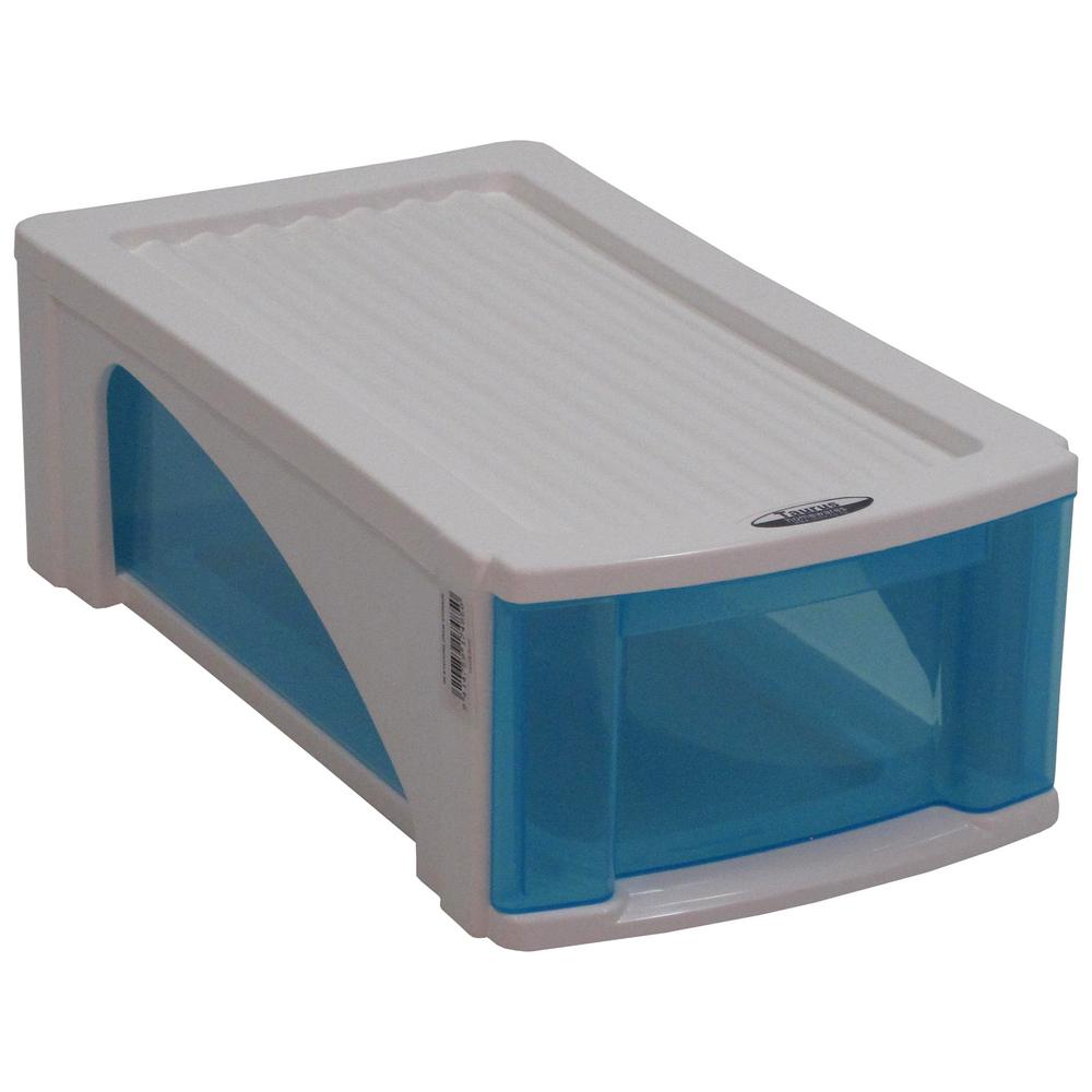 Taurus B5 Candy Single Pair Blue Drawer Shoe Organizer