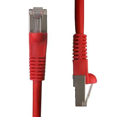3 ft. Cat5e Snagless Shielded (STP) Network Patch Cable, Red