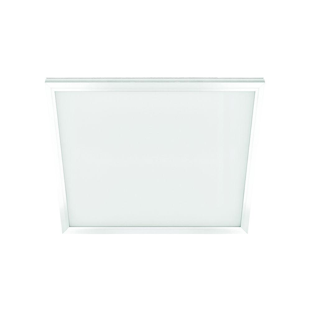 1 ft. x 1 ft. 10 Watt White Integrated LED Edge Lit Flat Panel Flushmount