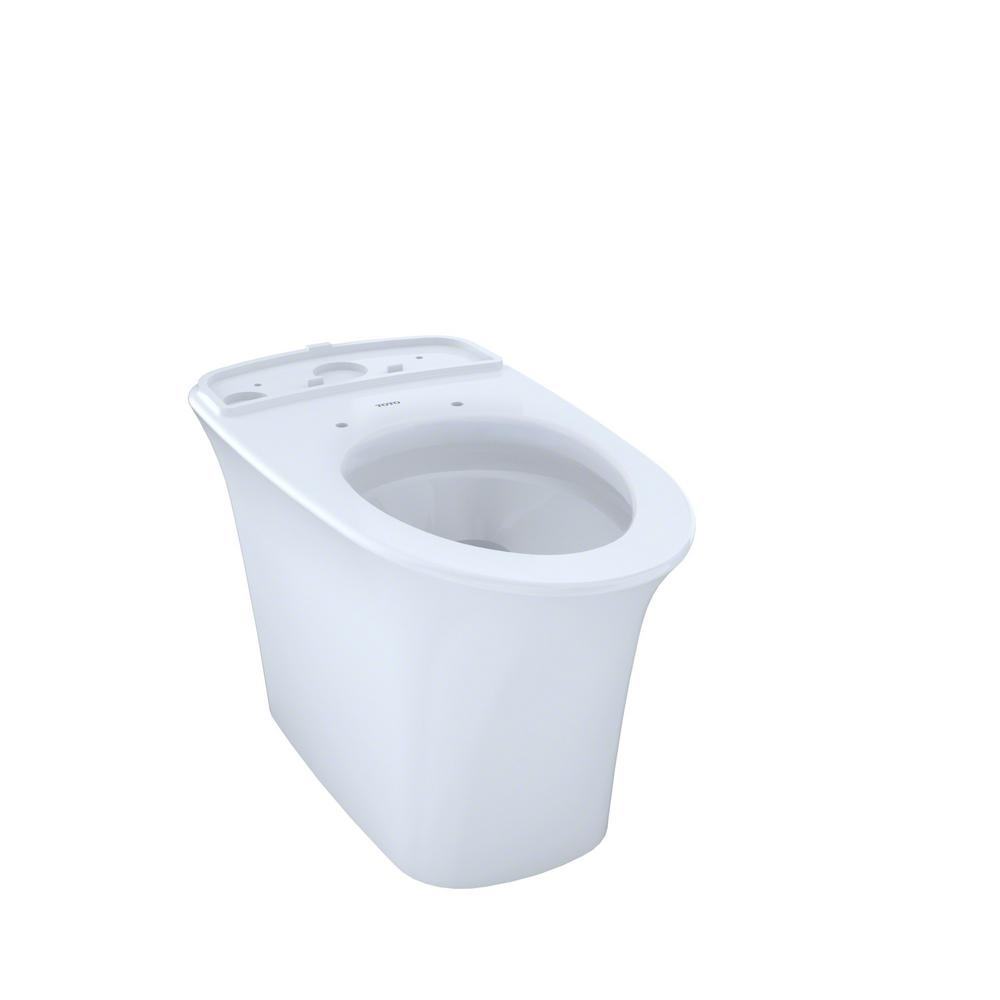 TOTO Maris Elongated Toilet Bowl Only with CeFiONtect in Cotton ...