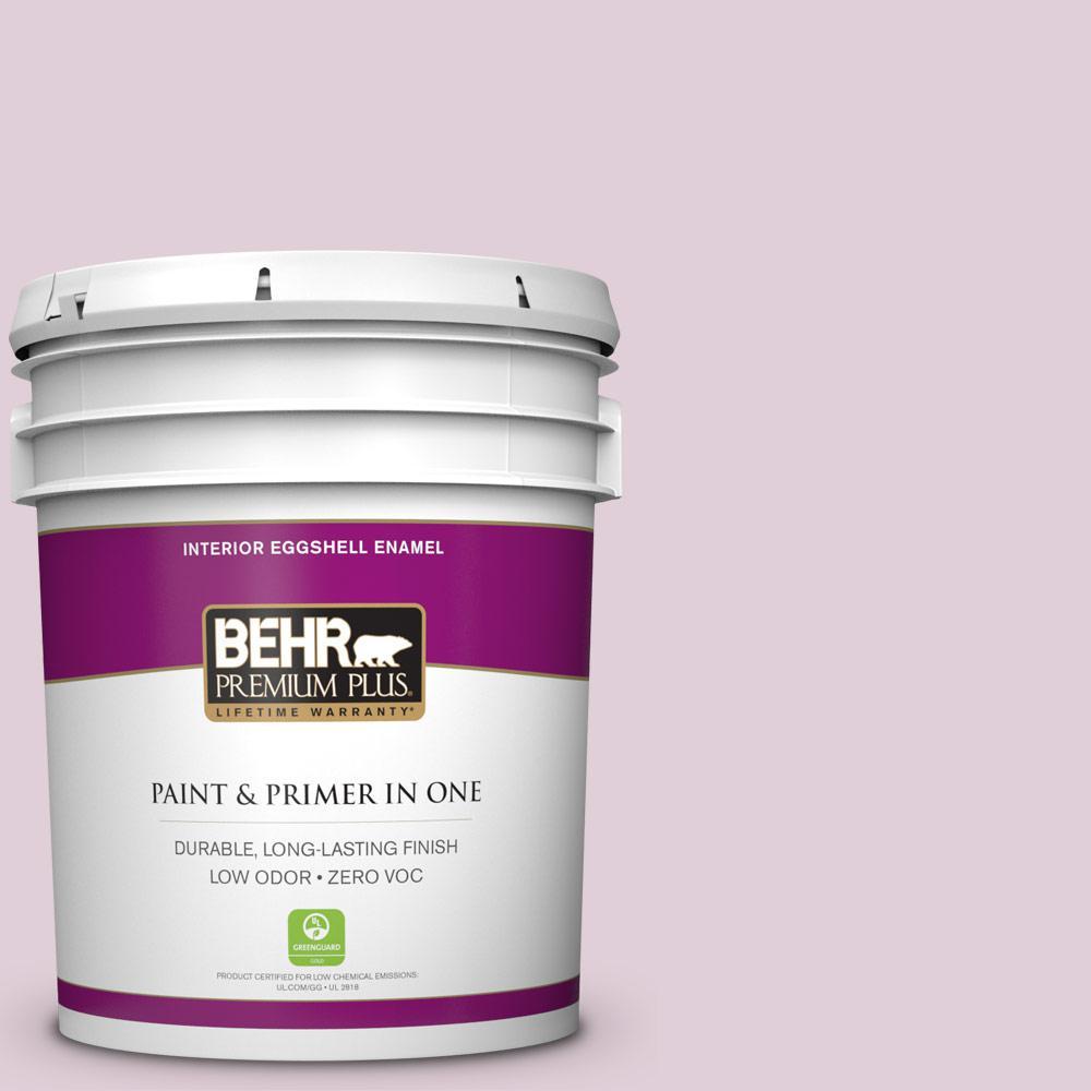 BEHR Premium Plus 5-gal. #S120-2 Etiquette Eggshell Enamel Interior Paint