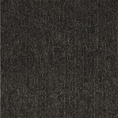 Picket Taupe Texture Commercial 24 in. x 24 in. Peel and Stick Carpet Tile (10 Tiles/Case)