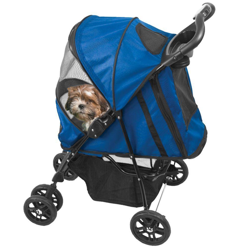 Pet Gear 24 in. x 12 in. x 23 in. Happy Trails Stroller