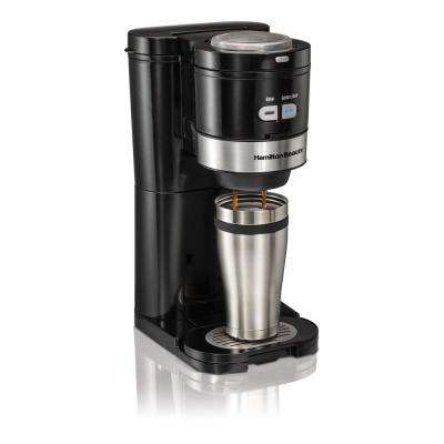 Grind and Brew 2-Cup Single Serve Coffee Maker