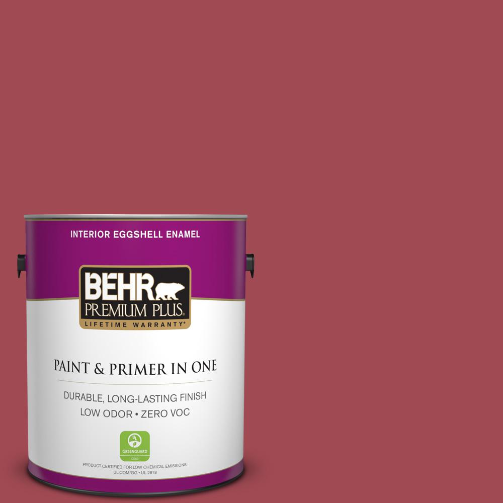 1 gal. #PPU1-07 Powder Room Zero VOC Eggshell Enamel Interior Paint