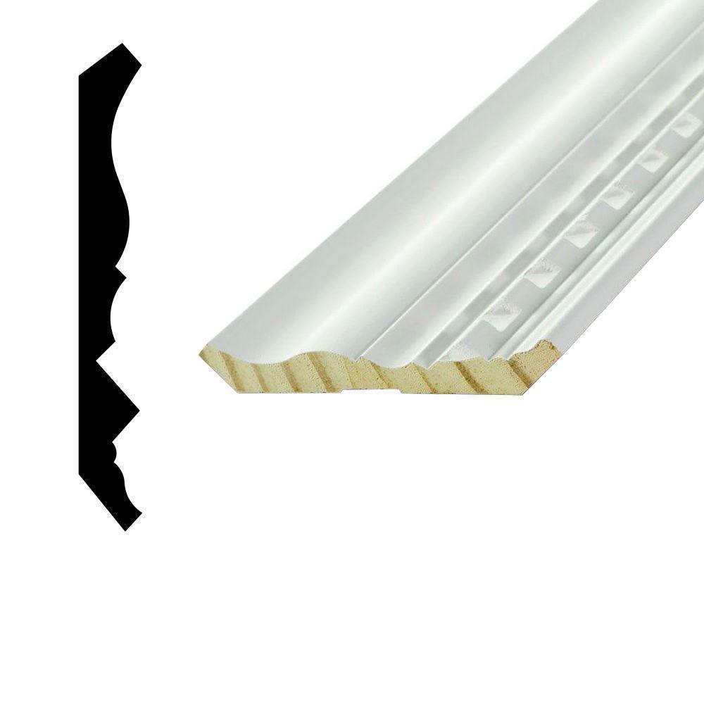 WP 33D 11/16 in. x 5-1/4 in. Primed Pine Finger-Jointed Dentil